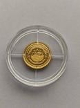 25 долларов 2001 год Либерия золото 1/50 унц. 9999`, фото №3