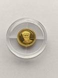 500 тугриков 2008 год Монголия золото 1/50 унц. 9999`, фото №2