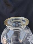 Большая Ваза Хрусталь Серебро 800 пр ( Италия ), фото №7