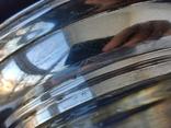Большая Ваза Хрусталь Серебро 800 пр ( Италия ), фото №8