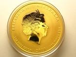 Монета золото лунар год тигра, фото №3