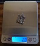 Ладанка,икона (серебро), фото №5