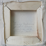 Картина, Погляд давнини, 15х15 см. Живопис на полотні, фото №5
