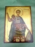 Икона Димитрий Солунский, или Димитрий Фессалоникийский, покровитель военного дела, фото №3