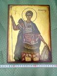 Икона Димитрий Солунский, или Димитрий Фессалоникийский, покровитель военного дела, фото №4