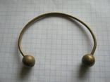 Латунный браслет, фото №6