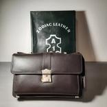 Сумка-барсетка мужская. Zodiac Leather. Кожа., фото №2