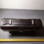 Сумка-барсетка мужская. Zodiac Leather. Кожа., фото №6