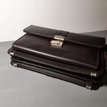 Сумка-барсетка мужская. Zodiac Leather. Кожа., фото №10