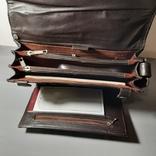 Сумка-барсетка мужская. Zodiac Leather. Кожа., фото №12