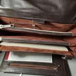 Сумка-барсетка мужская. Zodiac Leather. Кожа., фото №13