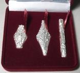 Набор монет серебро гривня київська чернігівська новгородська футляр 2020 набор тип 1, фото №3