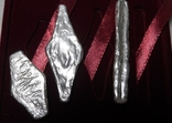 Набор монет серебро гривня київська чернігівська новгородська футляр 2020 набор тип 1, фото №5