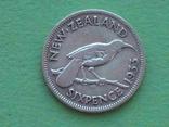 Новая Зеландия 1933 6 пенсов, Георг V, фото №4