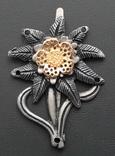 Знак Эдельвейс Горных Стрелков (копия), фото №3