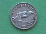 Новая Зеландия 1934 6 пенсов, Георг V, фото №4