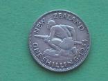 Новая Зеландия 1934 Шиллинг, Георг V, фото №4
