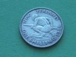 Новая Зеландия 1934 Шиллинг, Георг V, фото №5