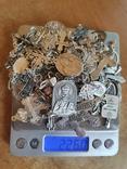 Крестики нательные православные. Большой лот. Серебро 925. Вес 226 г., фото №4