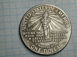 Доллар 1906 статуя свободы копия, фото №3