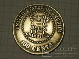 Доллар 1878 копия, фото №3