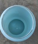 Низ керосиновой лампы стекло нач.20 века ручн роспись, фото №6