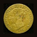 Великобритания токен 1/2 соверена 1854 Принц Уэльский, фото №3