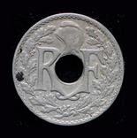 Франция 10 сантим 1919, фото №3