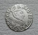 Трояк 1622 г. Сиг. ІІІ Ваза, фото №8