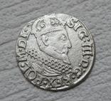 Трояк 1622 г. Сиг. ІІІ Ваза, фото №11