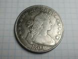 Доллар 1804 копия, фото №2
