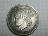 Доллар 1879 копия, фото №2