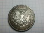 Доллар 1882 копия, фото №3