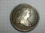 Доллар 1796 копия, фото №2