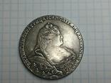 Рубль 1736 Анна тип 2 копия, фото №2