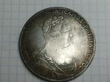 2 рубля 1726 Екатерина копия, фото №2