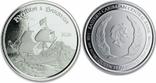 2 Доллара 2020 Монтсеррат (Серебро 0.999, 31.1г) 1oz, Восточные Карибы Унция, фото №2