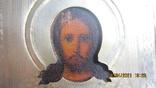 Икона Господь Вседержитель /позолоченный оклад, фото №5