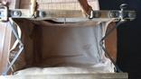 Сумка - саквояж кожаный винтажный, фото №5