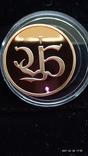 Медаль 2002 год Au 900* Проминвестбанк, фото №5