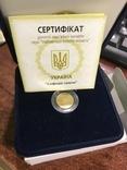 """Скіфське золото """"Вершник""""  2 грн 2005 золото """"Всадник"""" сертификат № 7, фото №2"""