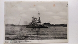 Открытка Третий Рейх Военный корабль 1936 год, фото №3