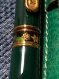 Ручка Michel Jordi позолота, оригинал с чехлом, фото №6