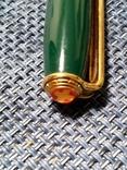 Ручка Michel Jordi позолота, оригинал с чехлом, фото №7