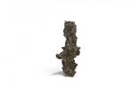 Фрагмент фульгурита, 0,25 грам, з сертифікатом автентичності, фото №2