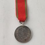 Османская империя медаль за войну с Грецией за Крит 1897 серебро, фото №2