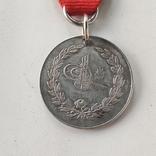 Османская империя медаль за войну с Грецией за Крит 1897 серебро, фото №3