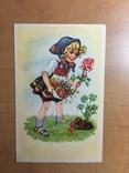 Дівчинка з квіточкою, фото №2