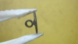 Пуговка в позолоті з вибитою квіткою, фото №5