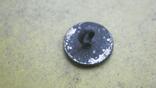 Пуговка в позолоті з вибитою квіткою, фото №7